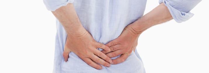 back pain in Essexville MI
